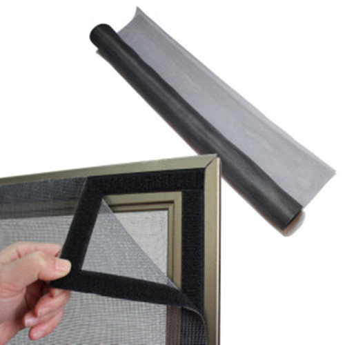 Diy velcro malla mosquitera de fibra de vidrio fibra de - Mosquitera con velcro ...