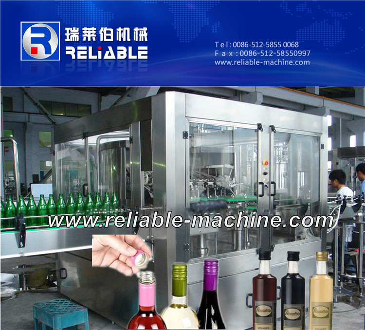 Rotary Type Glass Bottle Wine Bottling Machine