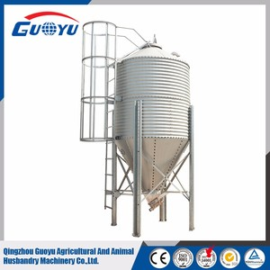 Hot sale grain storage steel silo for poultry greenhouse wheat/corn/soybean