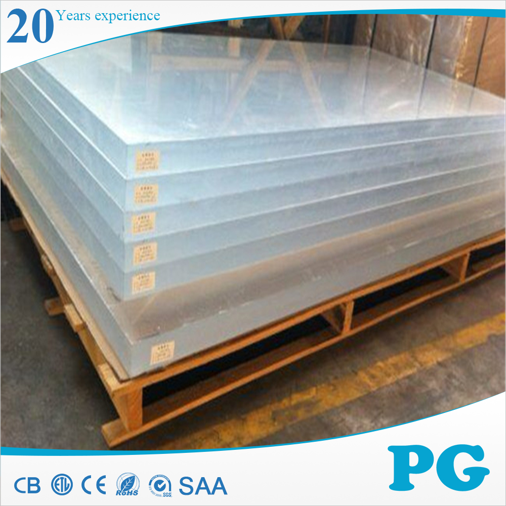 PG waterproof Wood Grain Anti-static Acrylic Plastic Plexiglass Sheet