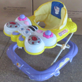 BABY WALKER NEW MODEL MUSICAL BUTTERFLY FACE WALKER EUROPEAN STANDARD BABY WALKER