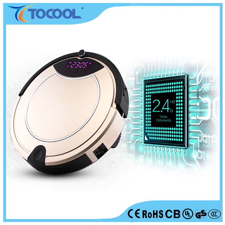 Intelligent Professional Robotic Vacuum Floor Cleaner and Household Wireless Robotic Vacuum Cleaner with Low Noise