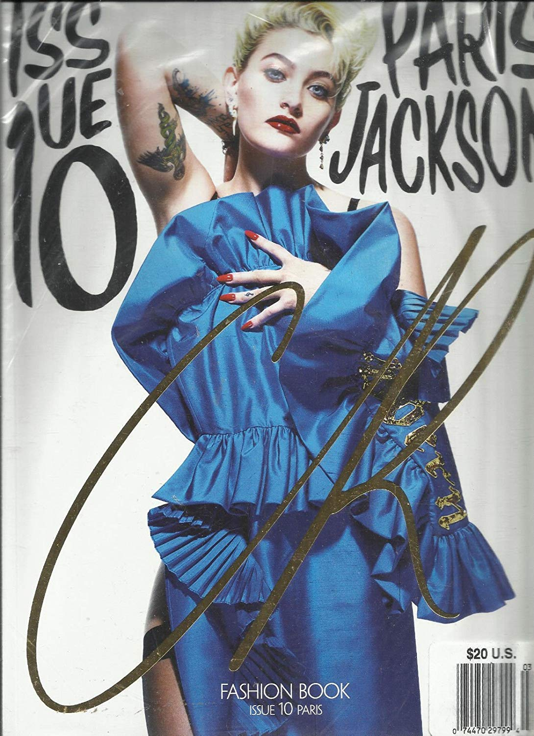 PARIS JACKSON - CR FASHION BOOK - SPRING/SUMMER, 2017 ISSUE, 10 PARIS