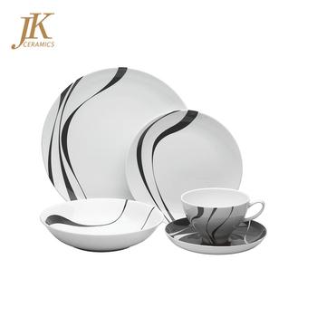 Wholesale jk ceramics white dinner plates 16 piece discount porcelain dinnerware sets  sc 1 st  Alibaba & Wholesale Jk Ceramics White Dinner Plates 16 Piece Discount ...