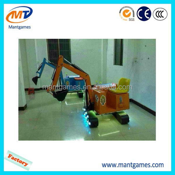 Best quality Excavator game machine/hot-sale inflatable indoor amusement park