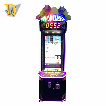 Coin operated video redemption arcade game electronic games up up lucky for adults
