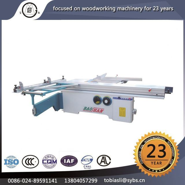 Hot sale MJ/45Y wood cutting sliding table panel saw machine