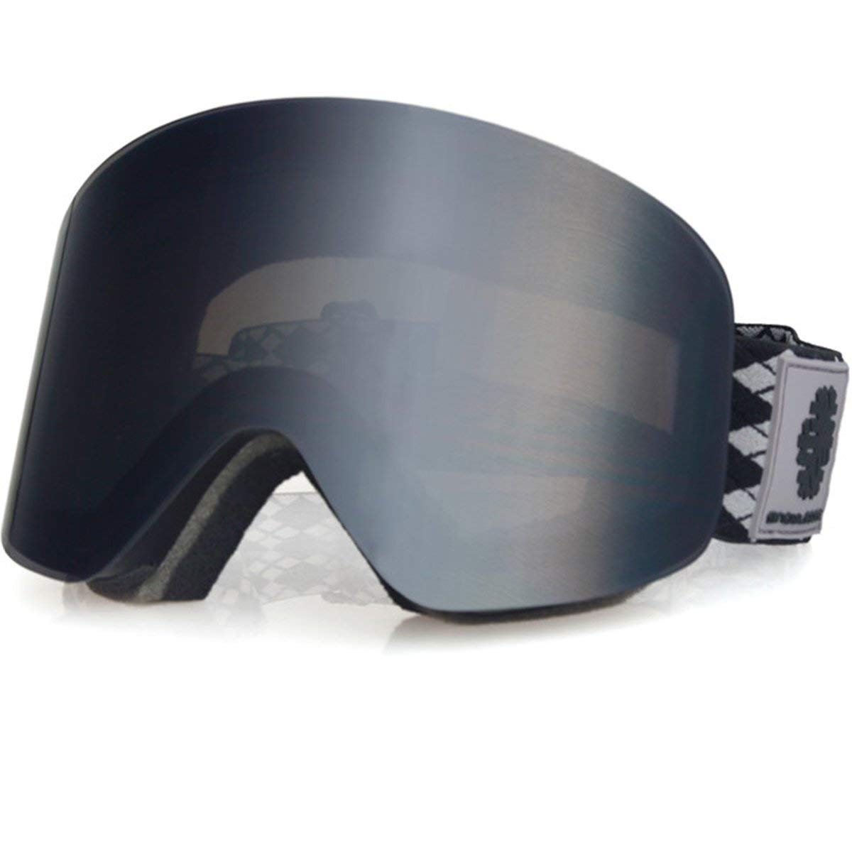 8c56784ea717 Get Quotations · Snowledge Ski Goggles - Frameless