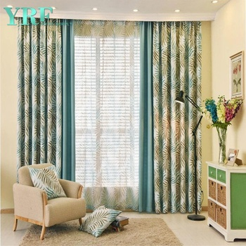 New Curtain Designs European Hotel Dining Room Window Curtain