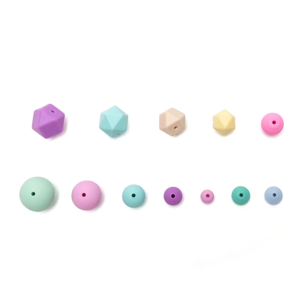 Silicone Loose Beads Food Grade Teething Jewelry High Quality Baby Cat Silicone Beads