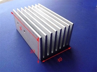 OEM Customize welcome high precision extruded aluminium profile led heat sinks