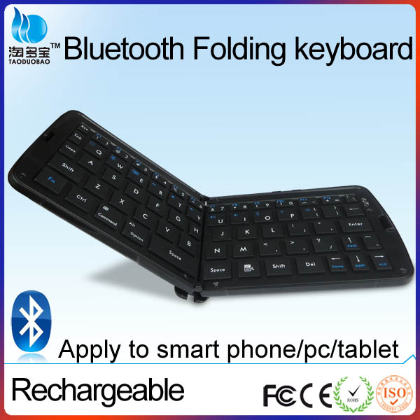 Best sell foldable mini bluetooth keyboard for samsung galaxy