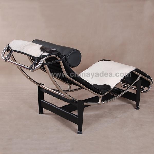 cassina lc4 cuir chaise longue le corbusier replica meubles meubles de salon id de produit. Black Bedroom Furniture Sets. Home Design Ideas