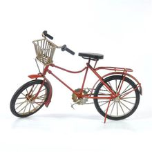 Best selling super quality vintage iron bike home decor for wholesale