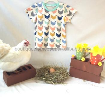 ddcaf0d0f Little Baby Chicken T Shirt Newborn Baby Knit Cotton Clothes Hot ...