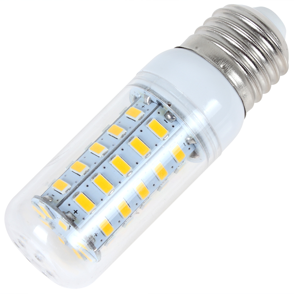 Lamp Covers & Shades Energy Saving E14 60 Smd 3528 Led 450lm Corn Light Lamp Bulb 3000-3500k Equivalent Halogen 50w Warm White Modern Design