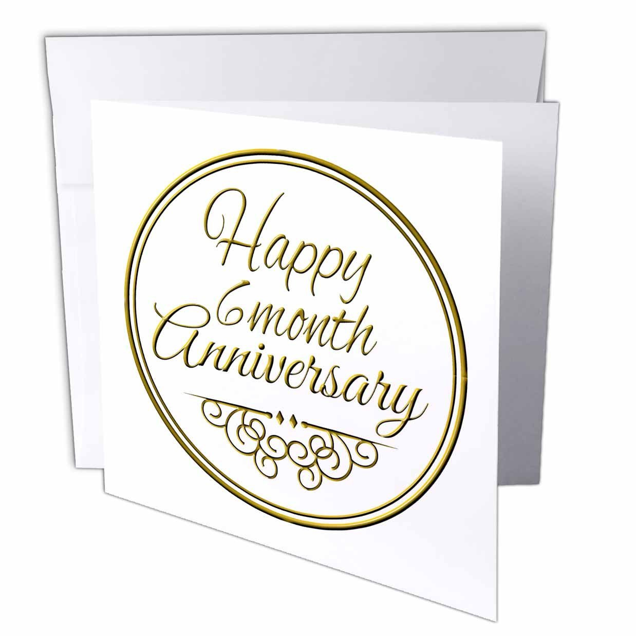 Buy Inspirationzstore Occasions Happy 6 Month Anniversary Gold