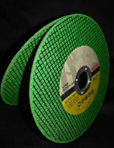 "4""wheel 105*1.2*16 green Abrasive Cutting Wheel for Stainless Steel and Metal"