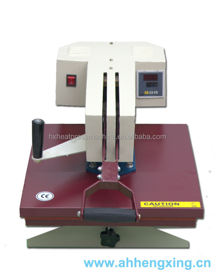 Hengxing QX-A3 Swing manuel hand press machine d'impression thermique pour t-shirt