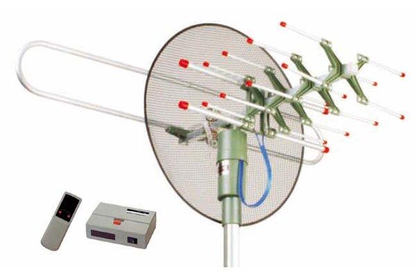 Rotaci n outdoor tv antena amplificada modelismo 893 - Antena exterior tv ...