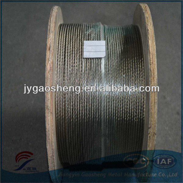 stainless steel wire rope 304 3 mm