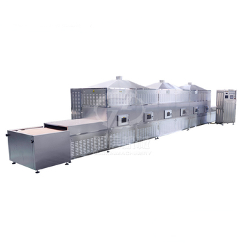 Automatic Continuous Stainless Steel Pistachio Microwave Dryer