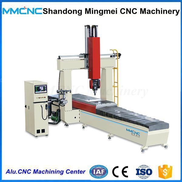 Aluminum Profile Cnc 5 Axis Machining Center For Foam Wood Plastic