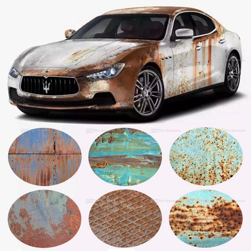 2019 Rust Car Sticker Rusted Vinyl Rusty Edition Car