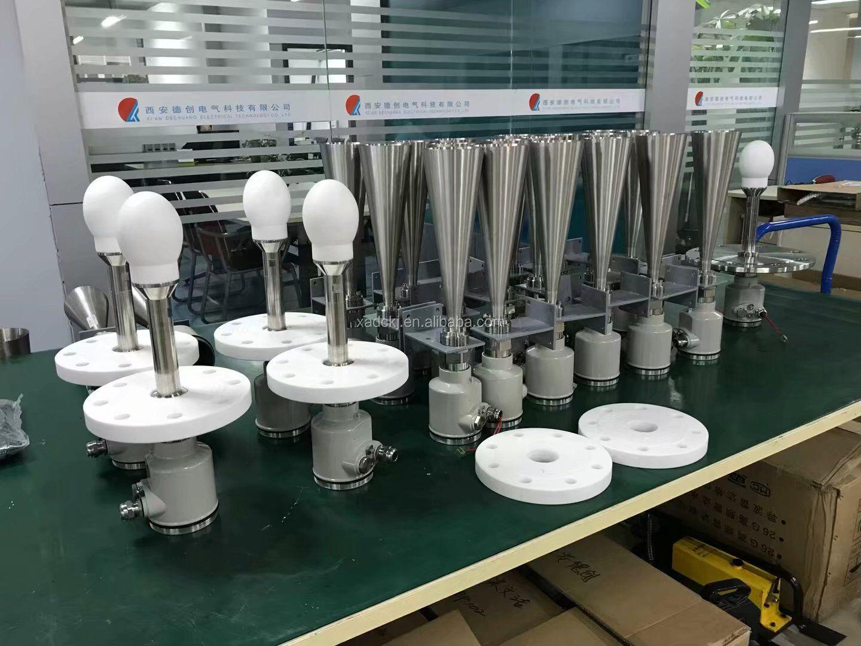 रॉड प्रकार निर्देशित लहर रडार मीटर रुपये 485 के साथ, 4-20 मा/रडार स्तर शंकु के साथ एंटीना/रॉड नाव गेंद तरल स्तर स्विच