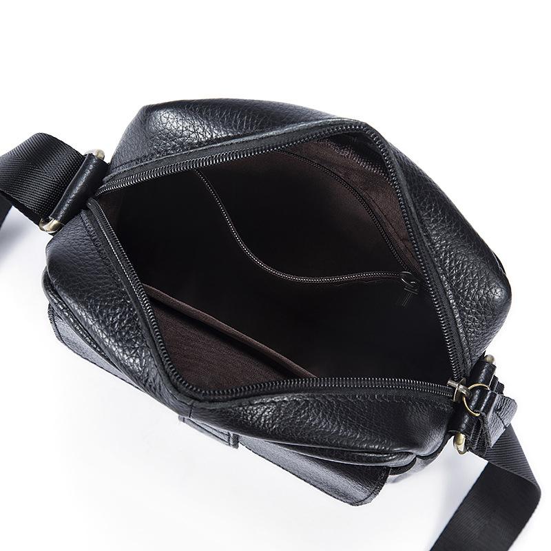 Fashionable Leather Messenger Men's Shoulder Bags Business Mens Leather Bags