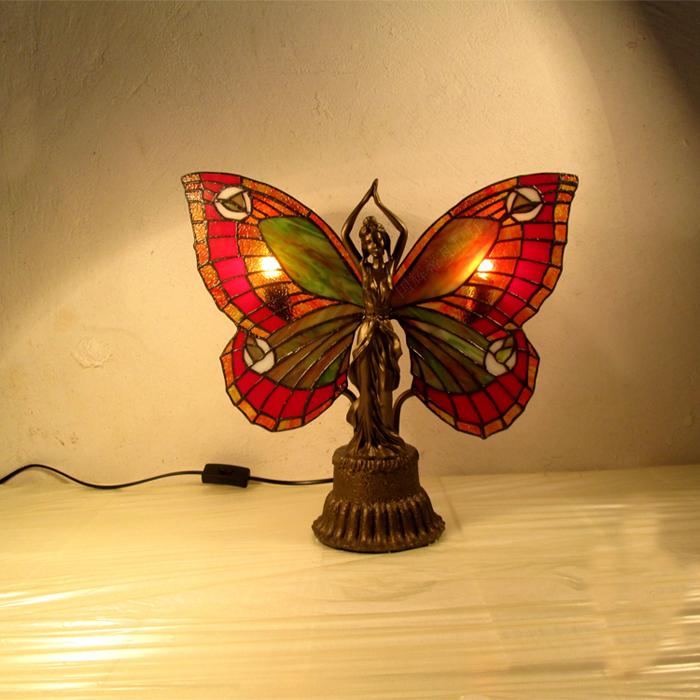 Popular Butterfly Tiffany Lamps Buy Cheap Butterfly