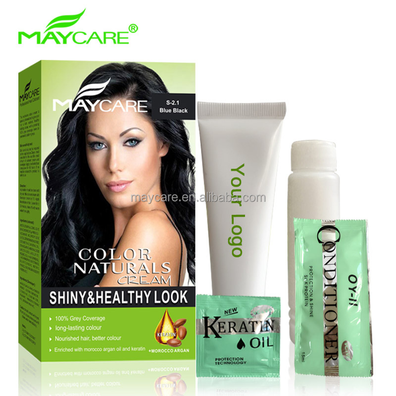 Maycare Gmpc Factory Wholesale No Ammonia Permanent Hair Color Dye