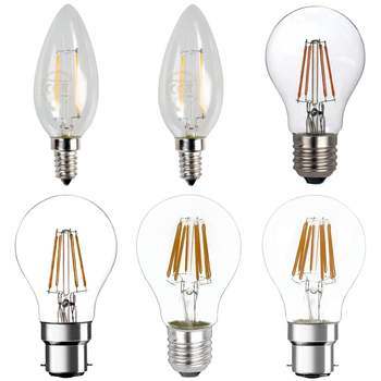 LED Filament E27/E26 Light Bulbs Edison globe bulb LED E27 Retro Edison Lamp 220V E14 Vintage Candle Light Bulb LED vintage