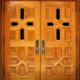for sale oak wood used exterior french church window doors front design in pakistan