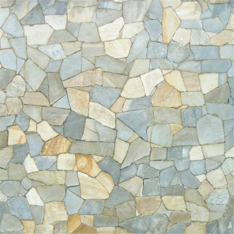 Rubi Tile Cutter Fish Scale Mosaic Travertine