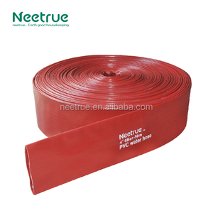 Heavy duty layflat discharge and backwash hose for pumps and water transfer