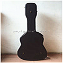 Dark Brown Leather Custom Guitar Case
