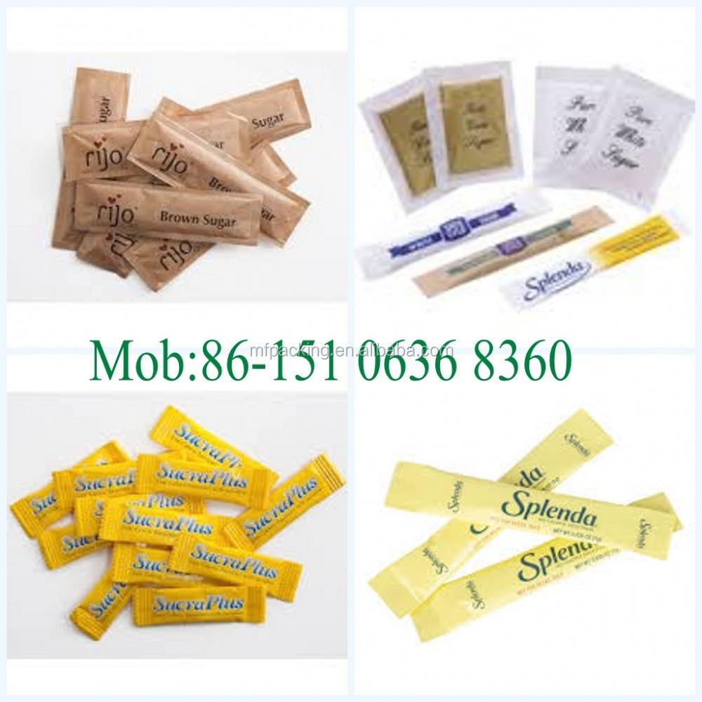 Factory Price Pe Coated Paper for sachet sugar&salt&pepper&coffee
