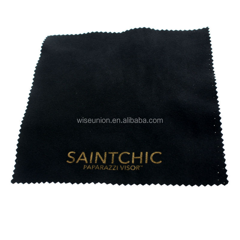 unique custom logo printed needl punch nonwoven clean cloth
