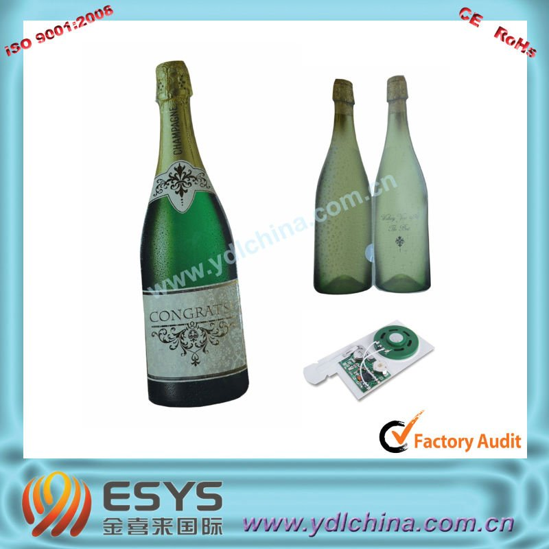 wine sound cards for promotion