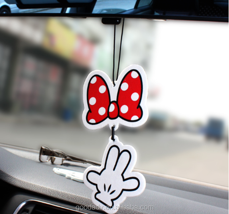 Car accessory custom design various shape auto air freshener