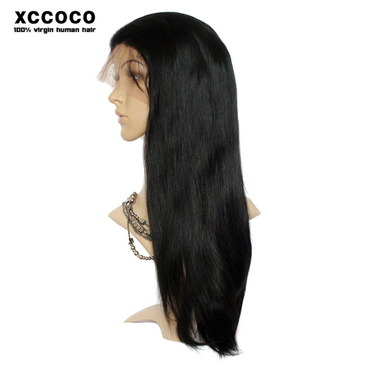 Wholesale Cheap Human Hair Full Lace Wig, Human Hair Lace Frontal Wig With Baby Hair