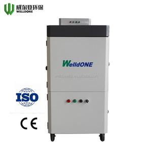 WHV-320 High vacuum integrated dust collector for welding/cutting/polishing fume