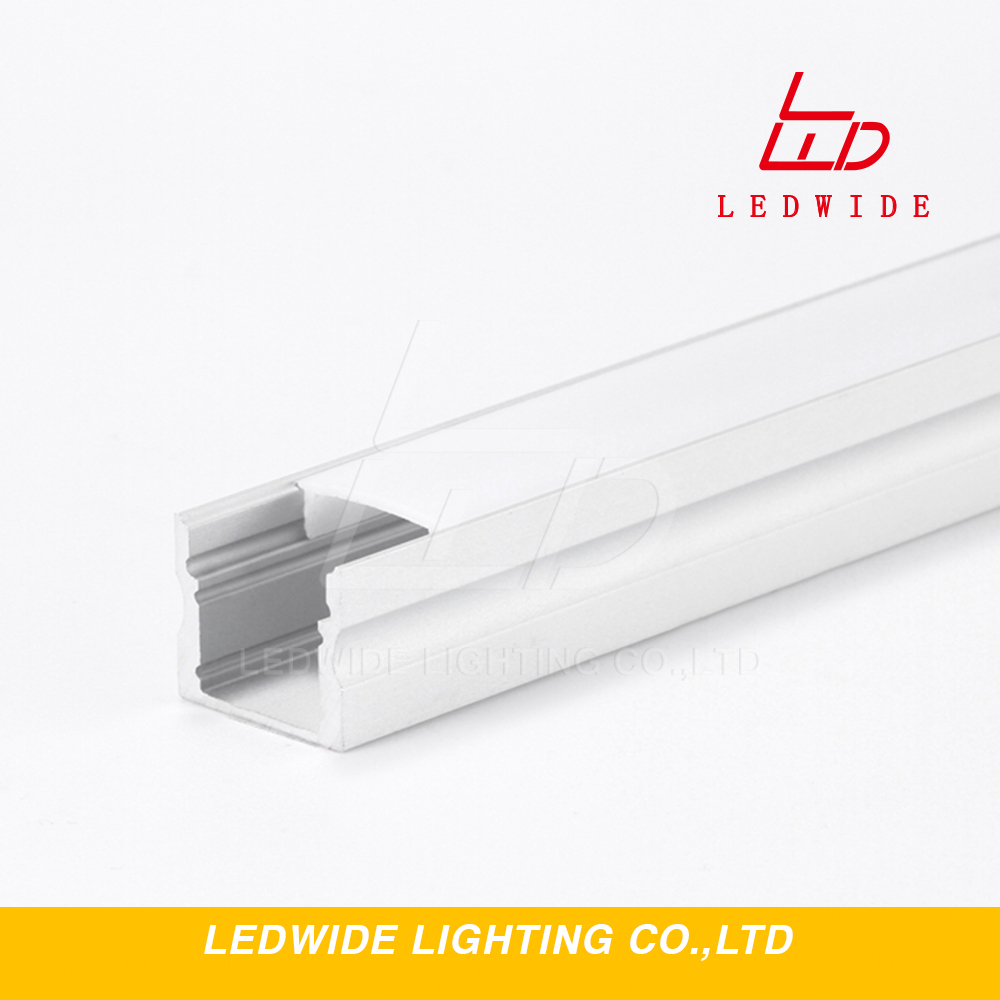 1m 60 LED Aluminum frame profile for drywall mounting