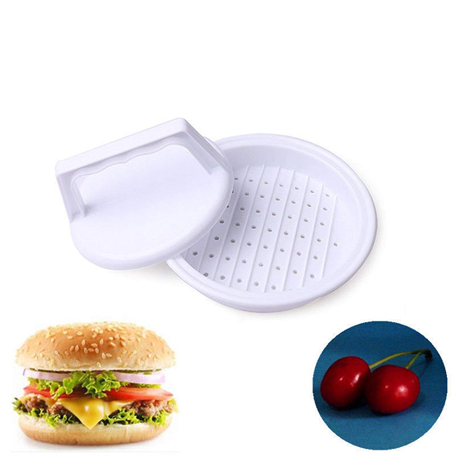 Toyofmine Plastic Burger Cooking Press Kitchen Beef Hot Grill Mold Hamburger Maker