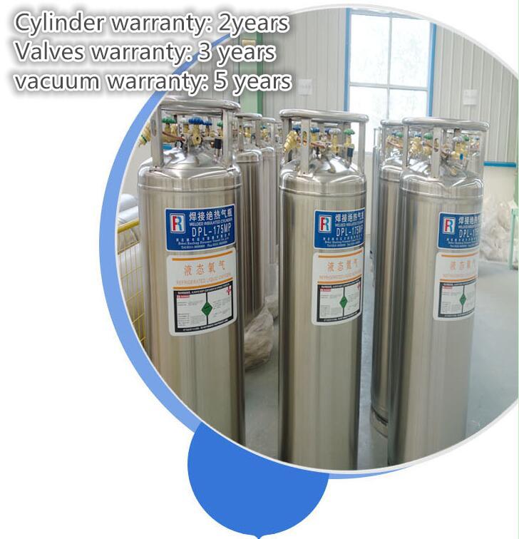 Liquid Cryogenic Gas cylinder Hebei Runfeng