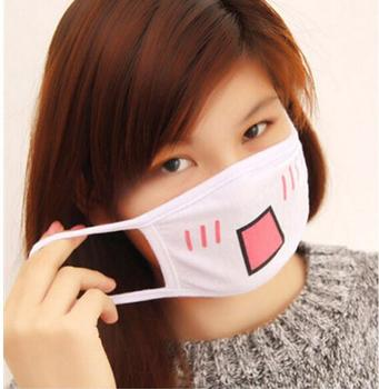 Cute Anti Dust Mask Cotton Cartoon Mouth Muffle Face Mask Emotiction Masque Kpop Masks