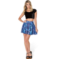2016 New Pattern Print vintage summer yoga tennis skirt Women s Fitness Europe America with hot