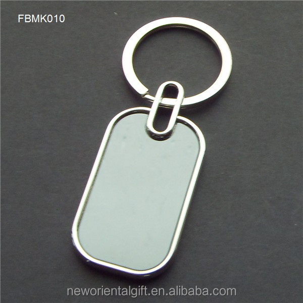Custom Zinc Alloy Keychain with laser <strong>logo</strong>