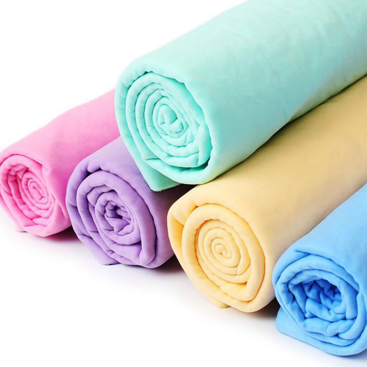 super water absorbent household PVA cleaning towel fabric